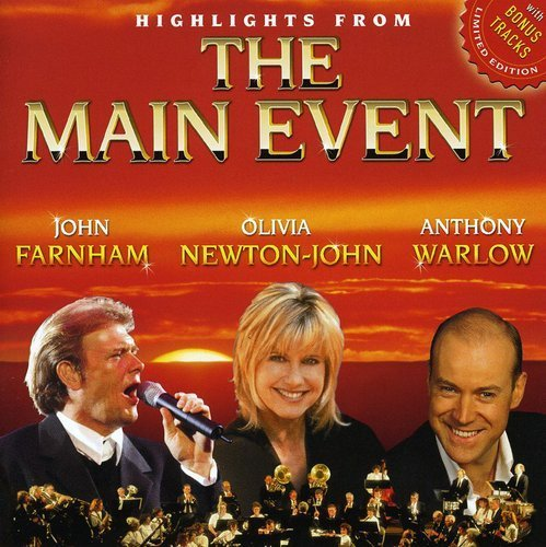 Olivia Newton John Highlights From The Main Event Import Aus Incl. Bonus Tracks