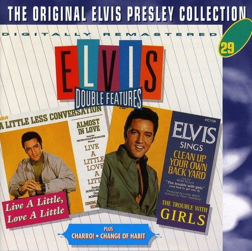Elvis Presley Live A Little.. Charro Trouble Import Gbr