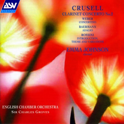 Crussell Weber Rossini Con Cl 2 Concertino Etc Johnson*emma (cl)