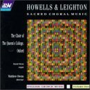 Howells Leighton Sacred Choral Music Went*david (org) Owens Choir Of Queen's College