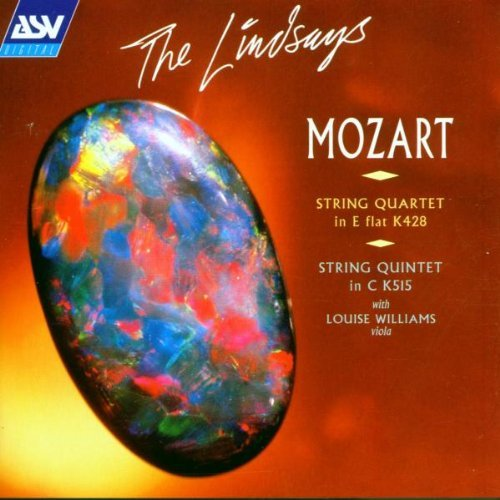W.A. Mozart String Quartet In E Flat Williams*louise (va) Lindsays