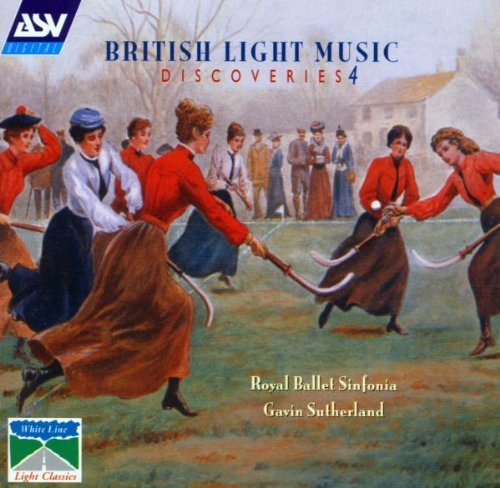 British Light Music Discoverie Vol. 4 Arnold Bennett Blezard Rutter Fanshawe Hurd Lewis