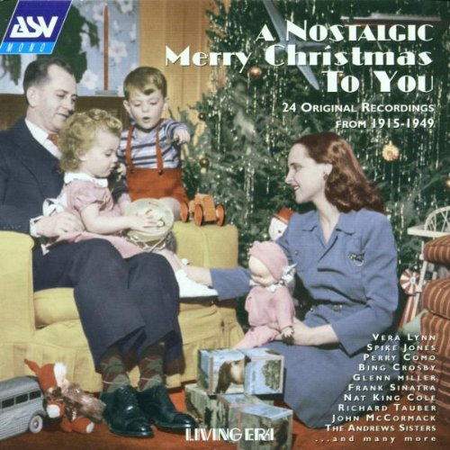 Nostalgic Merry Christmas T Nostalgic Merry Christmas To Y Lynn Jones Crosby Miller Cole Tauber Mccormick