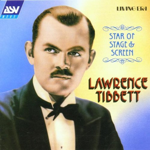 Lawrence Tibbett Star Of Stage & Screen Tibbett (bar)