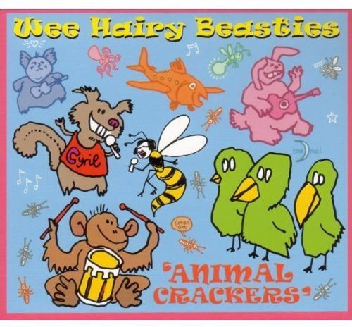 Wee Hairy Beasties Animal Crackers