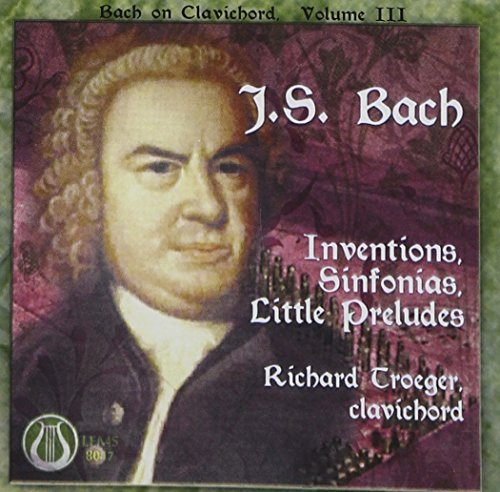 J.S. Bach Inventions Sinfs Little Pres Troeger*richard (clvd)