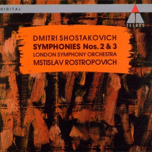 D. Shostakovich Sym 2 3 London Voices Rostropovich London So