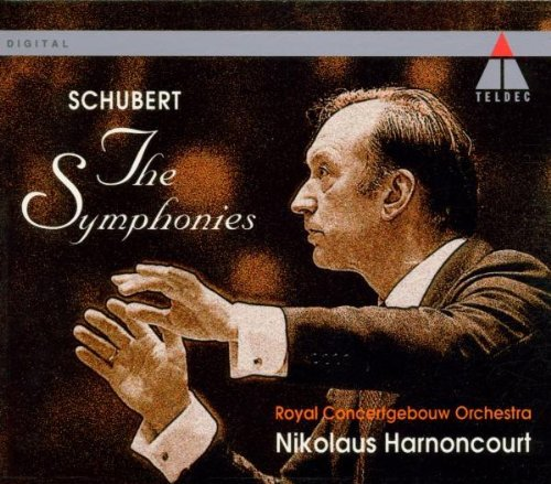 F. Schubert Complete Symphonies Cgb Harnon Harnoncourt Royal Concertgebou