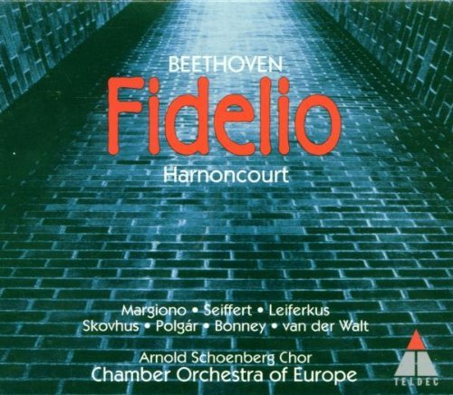 Beethoven L.V. Fidelio Comp Opera Bonney Margioni Seiffert & Harnoncourt Europe Co