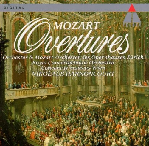 W.A. Mozart Overtures Harnoncourt Various