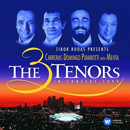 Carreras Domingo Pavarotti 3 Tenors In Concert Import Eu