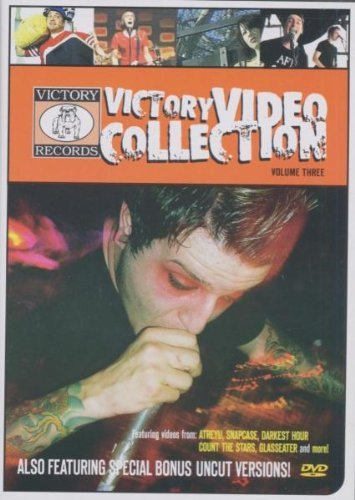Victory Video Collection Vol. 3 Victory Video Collectio Snapcase Glasseater A18 Victory Video Collection