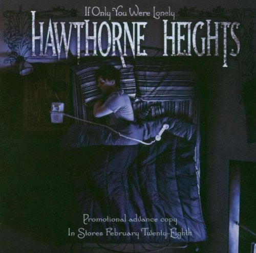 Hawthorne Heights If Only You Were Lonely Man Artwork 2 CD Set
