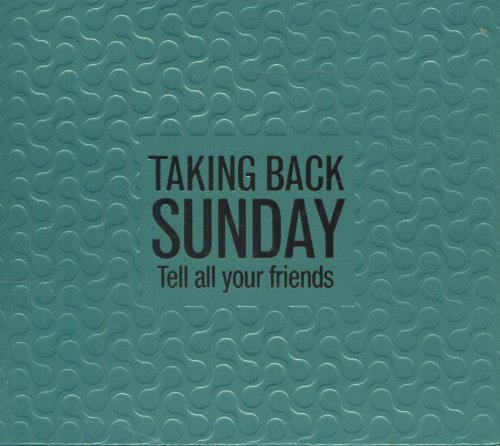 Taking Back Sunday Tell All Your Friends Dualdisc 2 CD Set