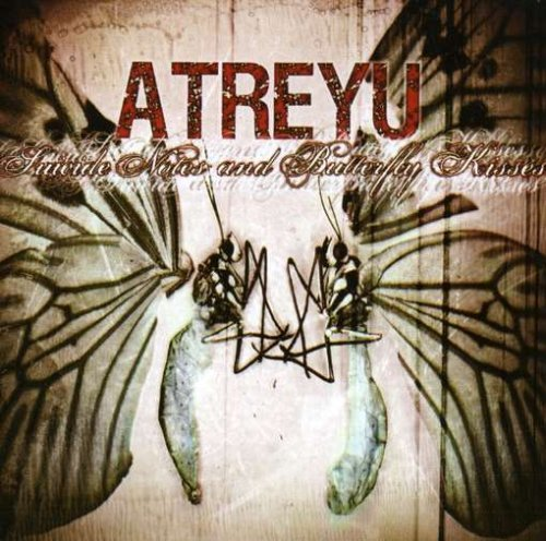 Atreyu Suicide Notes & Butterfly Kiss 2 CD Set