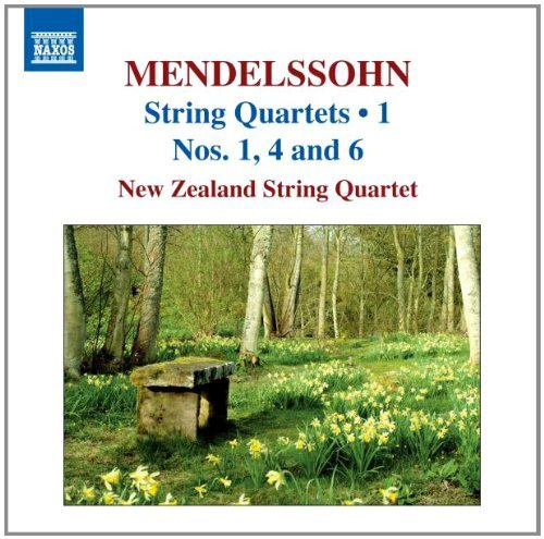 Felix Mendelssohn String Quartets V. 1 Nos. 1 4 New Zealand String Quartet
