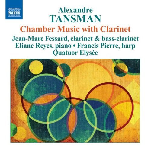 A. Tansman Chamber Music With Clarinet