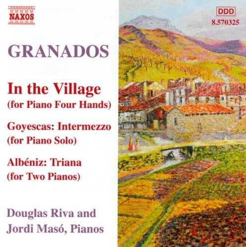 E. Granados Piano Music Vol. 10 Riva Maso