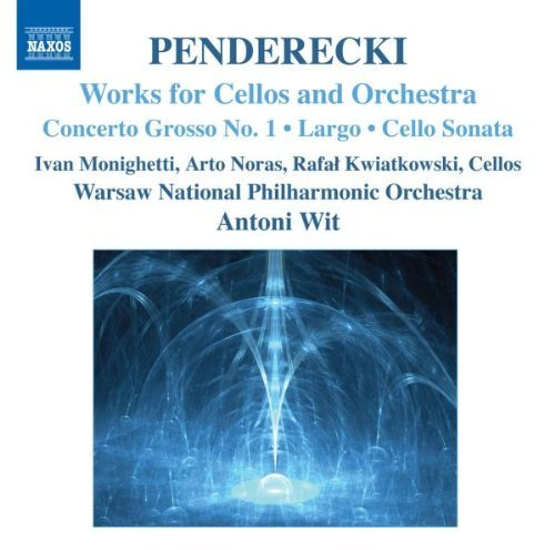 K. Penderecki Works For Vc & Orch Monighetti Noras Kwiatkowski Wit Warsaw National Po