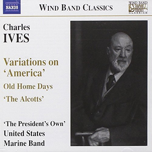 C. Ives Variations On America Old Home United States Marine Band