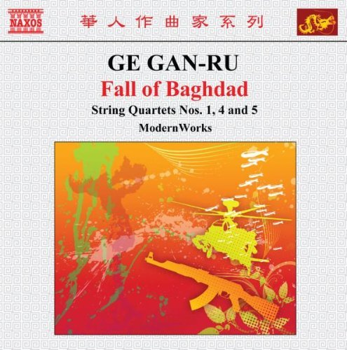 G. Gan Ru Fall Of Baghdad String Quartet Modernworks