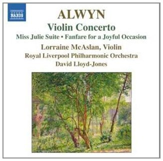 W. Alwyn Violin Concerto Miss Julie Sui Royal Liverpool Po