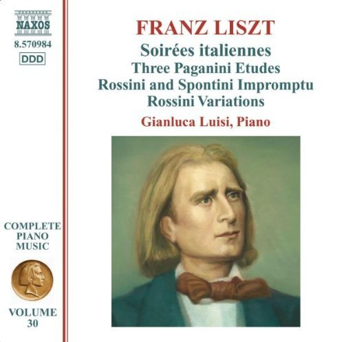 Franz Liszt Complete Piano Music Vol. 30 Luisi*gianluca