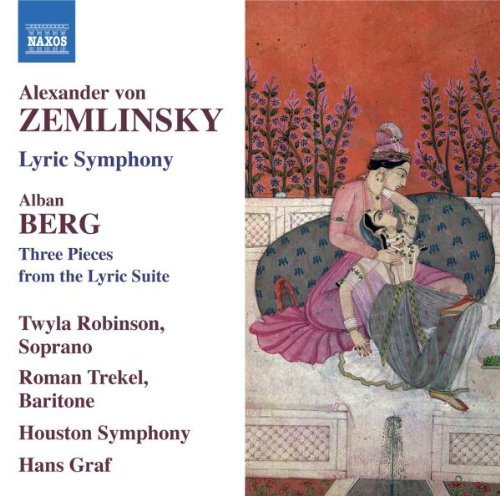 Zemlinsky Berg Lyric Symphony Three Pieces F Trekel Robinson Graf Houston Symphony