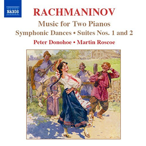 S. Rachmaninoff Works For 2 Pnos Ste 1 2 Symph