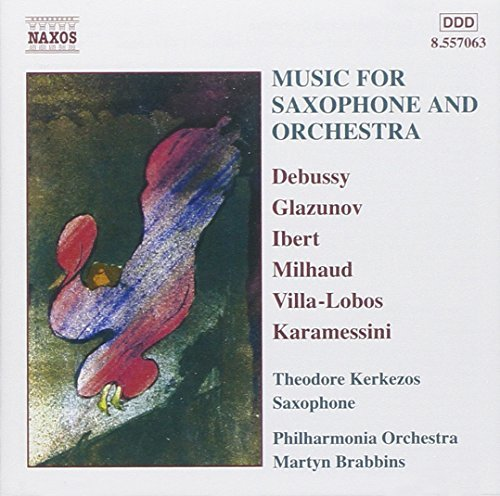 Music For Saxophone & Orchestr Music For Saxophone & Orchestr Kerkezos*theodore (sax) Brabbins Po