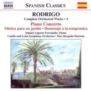 J. Rodrigo Complete Orchestral Works Vol. Darman Castille & Leon So