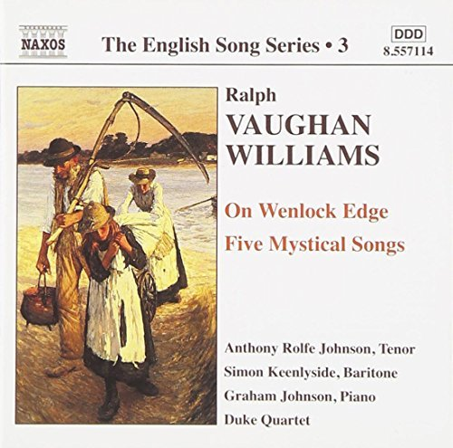 R. Vaughan Williams English Song Series Vol. 3 Johnson Keenlyside Johnson Duke Qt