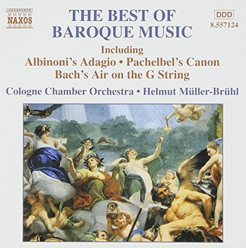 Cologne Chamber Orchestra Best Of Baroque Music Muller Bruhl Cologne Co