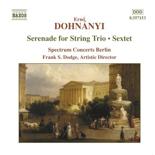 E. Von Dohnanyi Ser Str Trio (c Major) Sxt (c Spectrum Concerts Berlin
