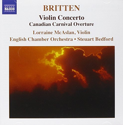 B. Britten Con Vn Mcaslan*lorraine (vn) Bedford English Co