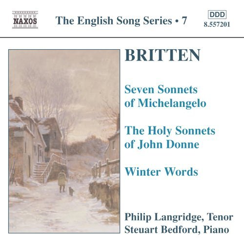 B. Britten English Song Series Langridge (ten) Bedford (fl)