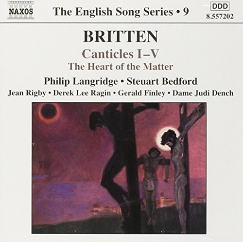B. Britten Canticles 1 5 Langridge (ten) Bedford (pno) Narr. By Dame Judith Dench
