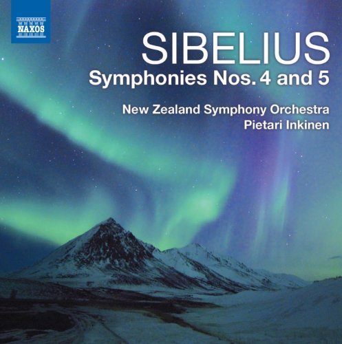 J. Sibelius Symphonies Nos. 4 5 Inkinen New Zealand So