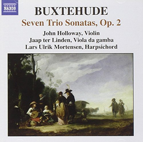 D. Buxtehude Complete Chamber Music Vol. 2 Holloway Linden Mortensen