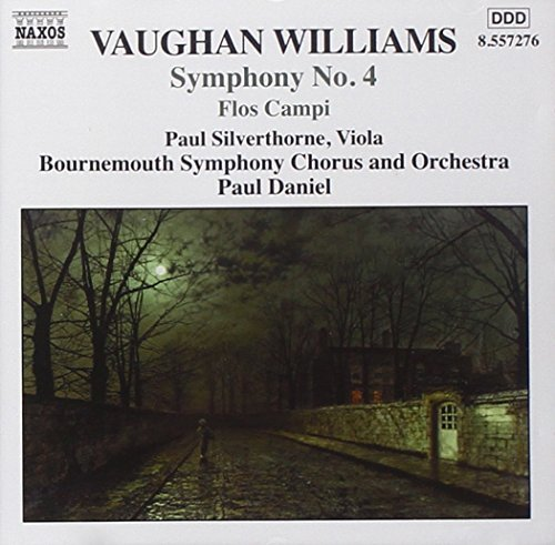 R. Vaughan Williams Sym 4 Flos Campi Silverthorne*paul (vl) Daniel Bournemouth Sym