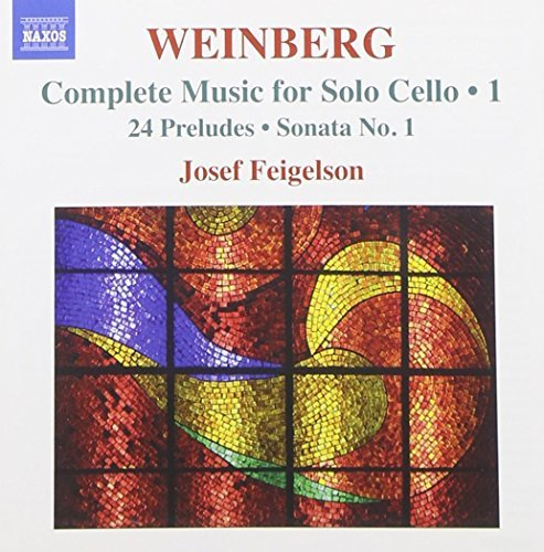 W. Mieczyslaw Complete Music For Solo Cello Feigelson (vc)