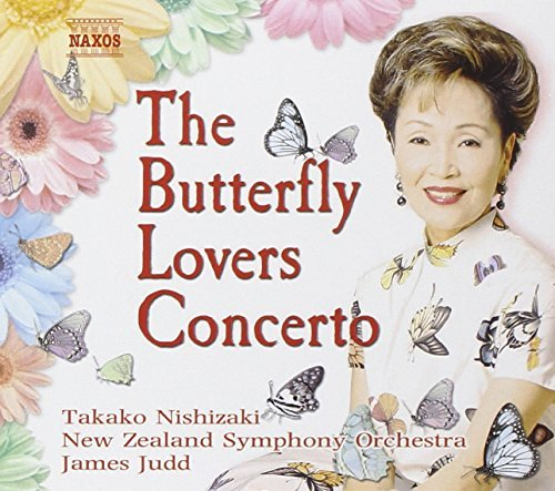 Takako Nishizaki Butterfly Lovers Concerto Nishizaki (vn) Judd New Zealand So