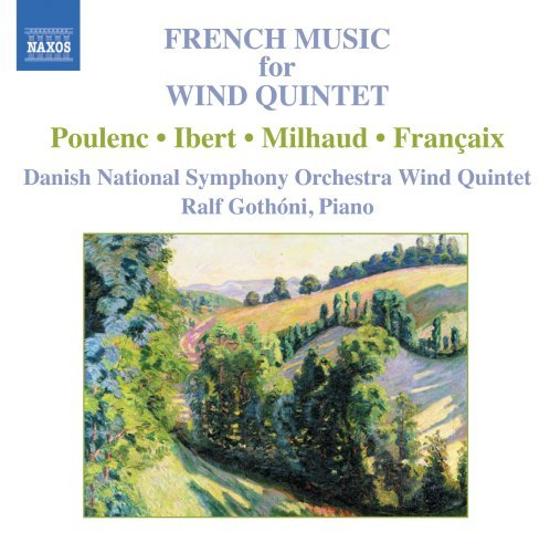 French Music For Wind Quintet French Wind Quintets Gothoni)pno) Danish Natl So