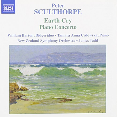 P. Sculthorpe Earth Cry Barton Cislowska Judd New Zealand So