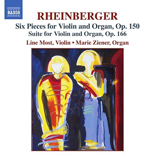 J. Rheinberger Six Pieces For Violin & Organ Most(vn)ziener(org)