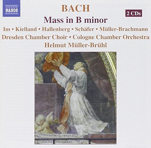 Johann Sebastian Bach Mass In B Minor 2 CD Set Im(sop Schafer(ten) Muller Bruhl Cologne Co