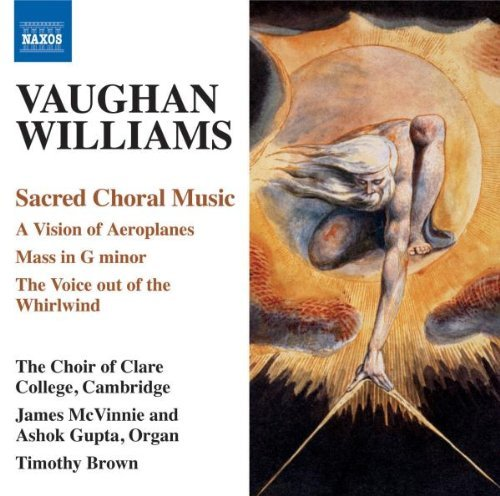 R. Vaughan Williams Sacred Choral Music Vision Of Choir Of Clare College
