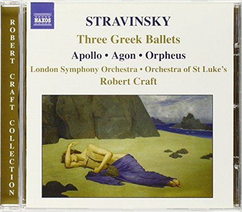 I. Stravinsky 3 Greek Ballets Craft London So
