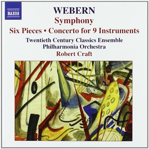 A. Webern Sym Six Pieces Con For 9 Instr Welch Babidge (sop) Craft