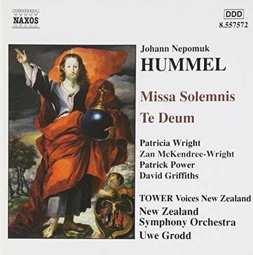 J.N. Hummel Miss Solemnis Te Deum Wright Power Griffiths & Grodd New Zealand So
